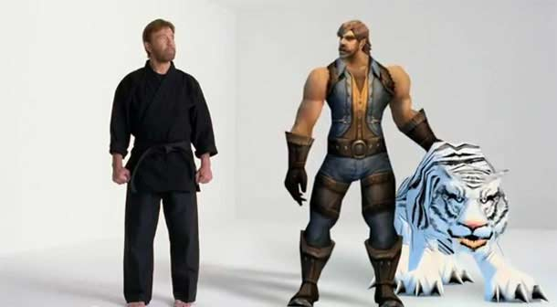 Chuck Norris dans World of Warcraft