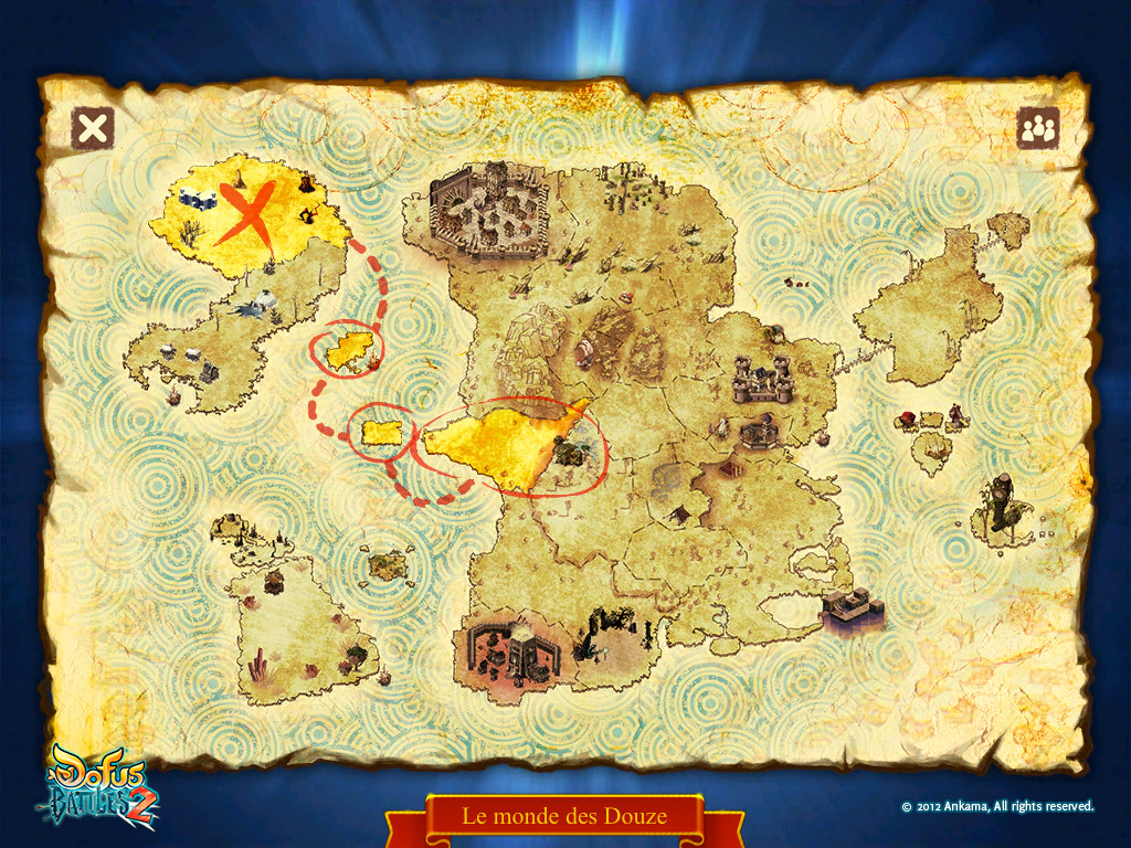 Carte de Dofus Battles 2