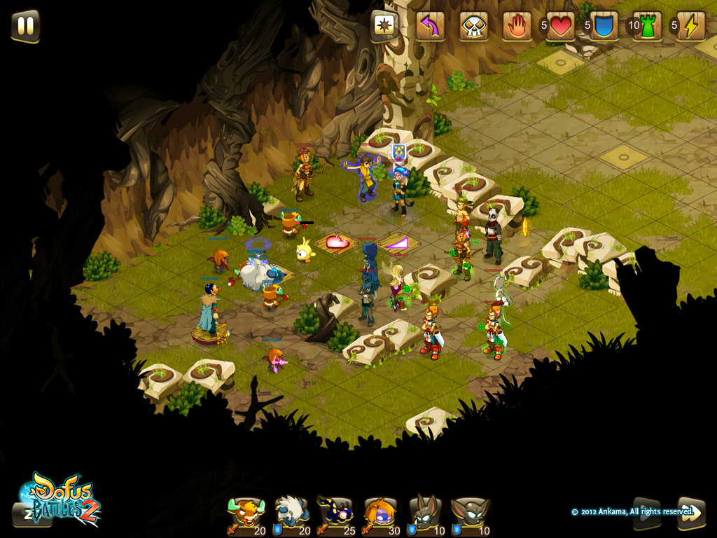 On joue en mode Tower Attack (Dofus Battles 2)