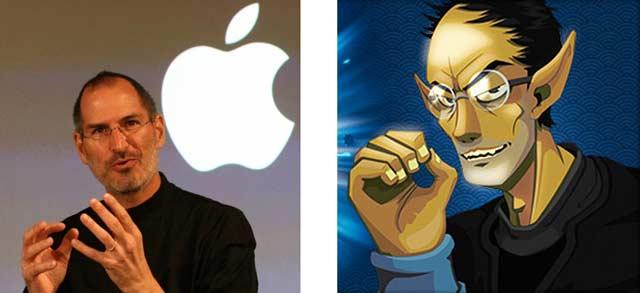 Steff Taff est une allusion à Steve Jobs