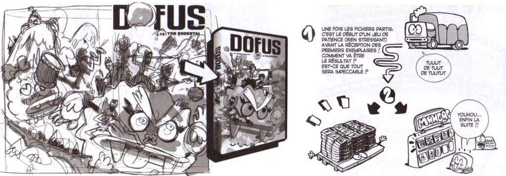 Extraits du processus de création de Dofus
