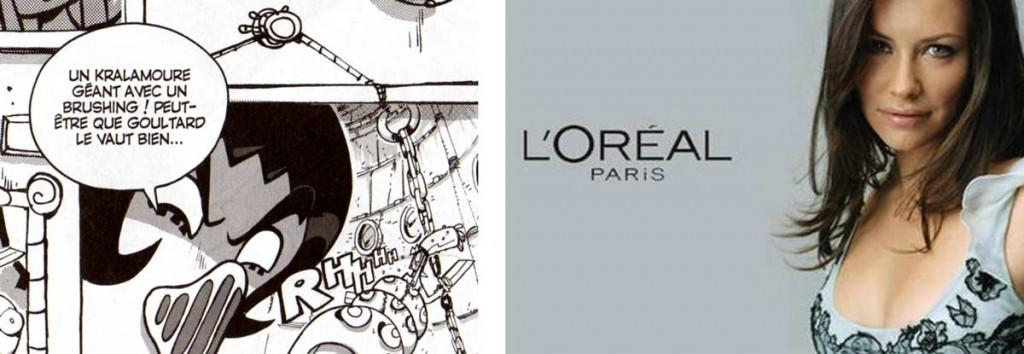 """Li Crounch dit """"parce que Goultard le vaut bien"""" en référence au slogan de L'Oréal : """"parce que je le vaux bien"""""""
