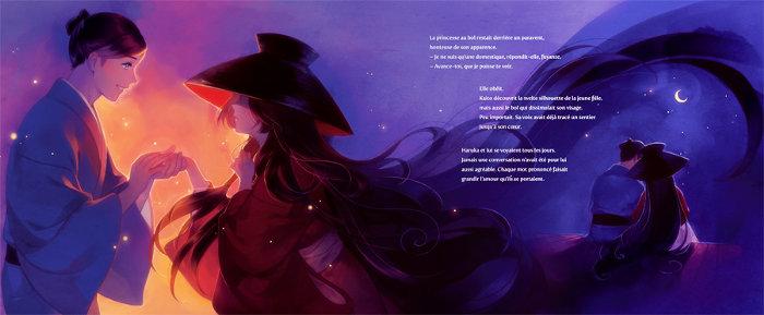 Page de La Princesse au bol enchanté