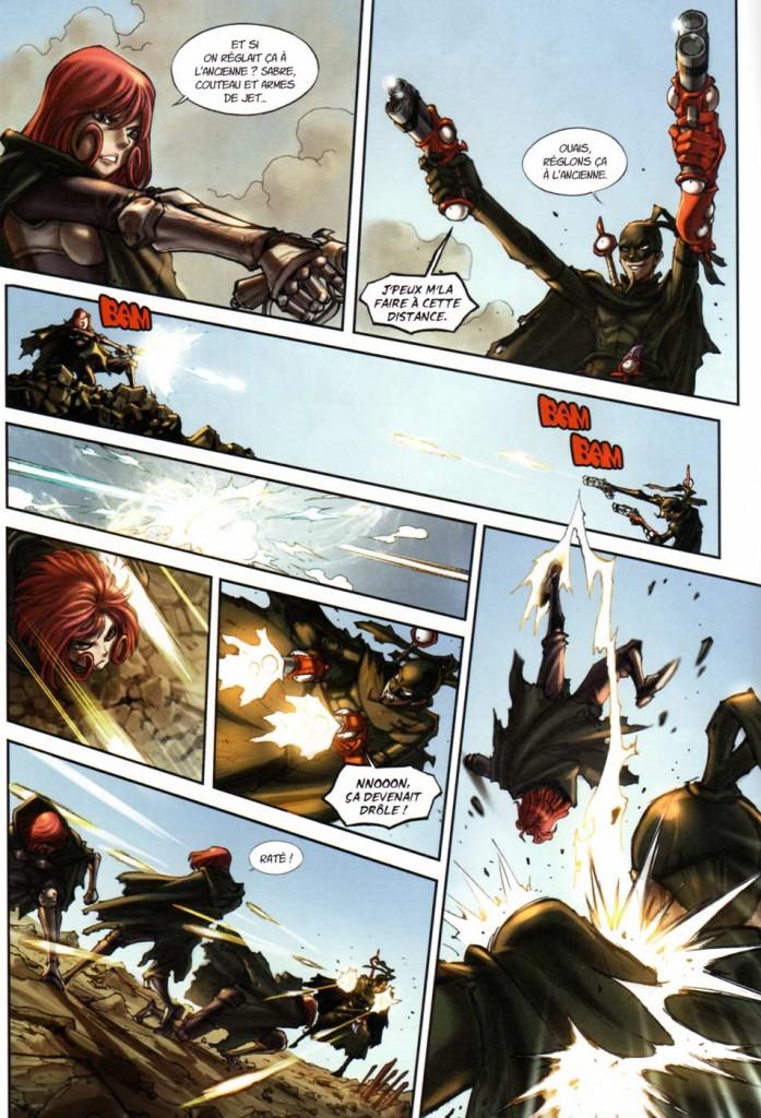 Page 4 du Comics Remington N°8 (Wakfu)