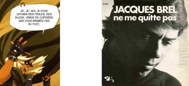 """Robber Smisse chante une parodie de la chanson """"Ne me quitte pas"""" de Jacques Brel."""