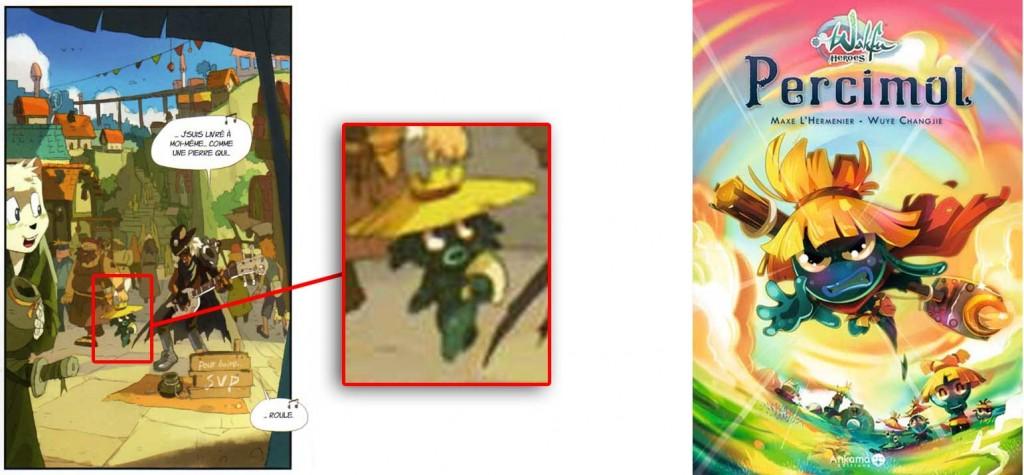 le flaqueux est là pour rappeler que Wuye Changjie a aussi dessiné le Tome 2 de Wakfu Heros