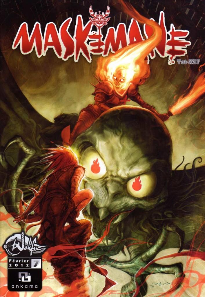 Maskemane N°7 (comics Wakfu)