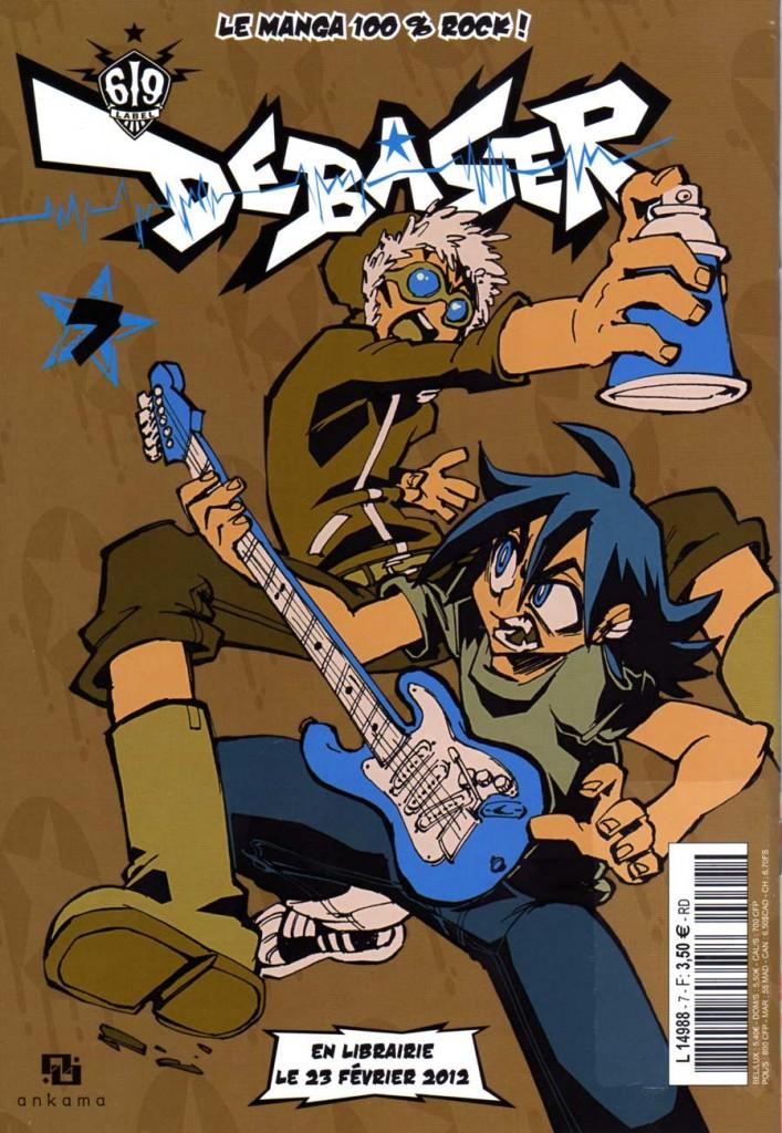 Dos du comics Maskemane N°7
