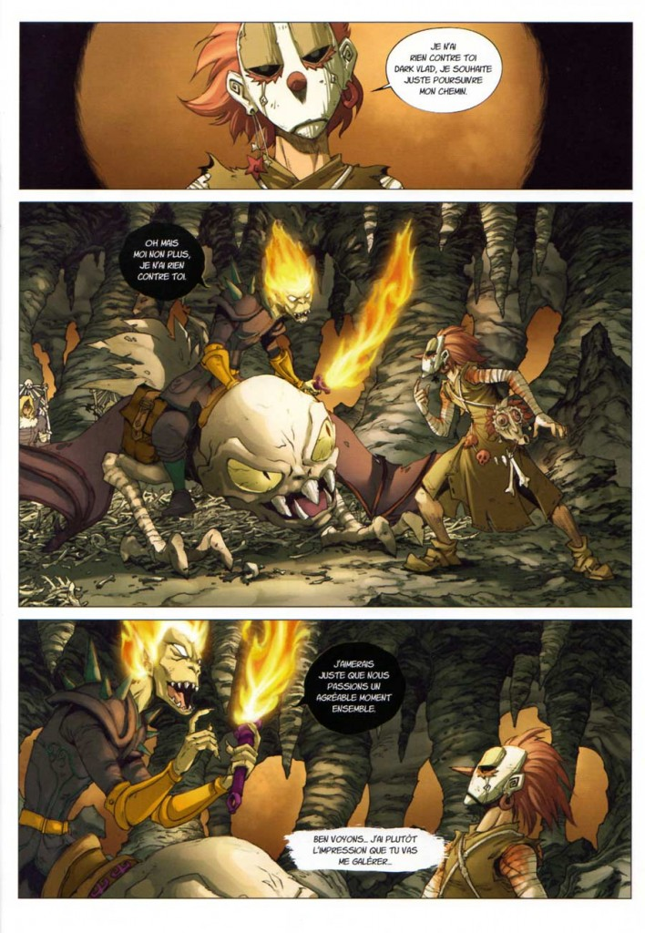 Page 1 - Comics Maskemane N°7 (Wakfu)