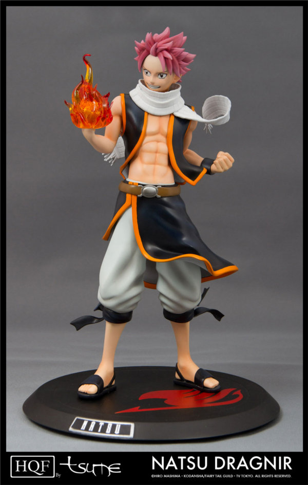 Image de la figurine Natsu de Fairy Tail par Tsume