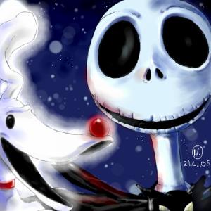 2005 Fan art de l'étrange Noël de M. Jack par Nadou