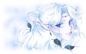 Elfe faire par Nadine St Pol (Nadou)