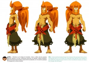 Model Sheet de Goultard (Wakfu)
