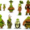 Sadida Model Sheet (Wakfu)