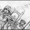 Ikaël (croquis de Nadou) - Les Légendaires