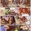 Les Légendaires : Planche de test de Nadou N°2 - couleur