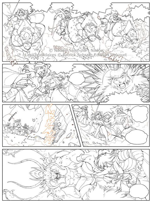 Art Line Questions : Les légendaires planches fantômes otakia