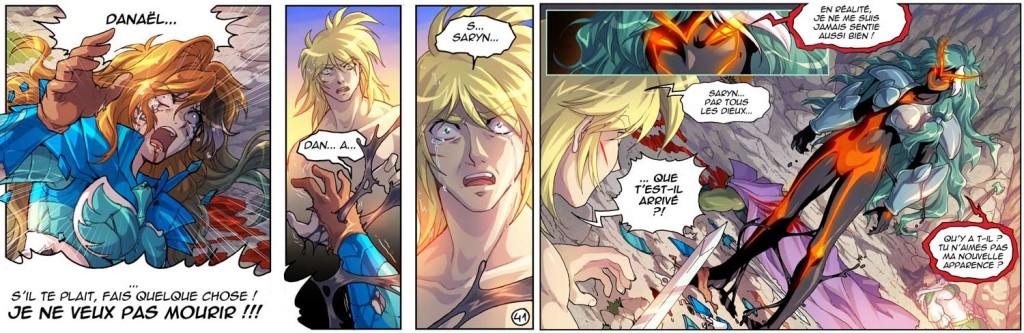 Saryn est transformée en un démon appelé Ombre du chaos.