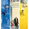 Affiche exposition les filles chez Pixar