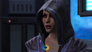 Image de Dark Jaesa Willsaam si elle est obscure dans Star Wars : The Old Republic (source : http://www.gamersglobal.de/news/47435/swtor-tagebuch-7-eltern-tot-und-treffen-mit-jaesa-willsaam)