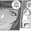 Gros plan de Flo'z pour le réveil d'Ed(Manga head-trick Tome 5)