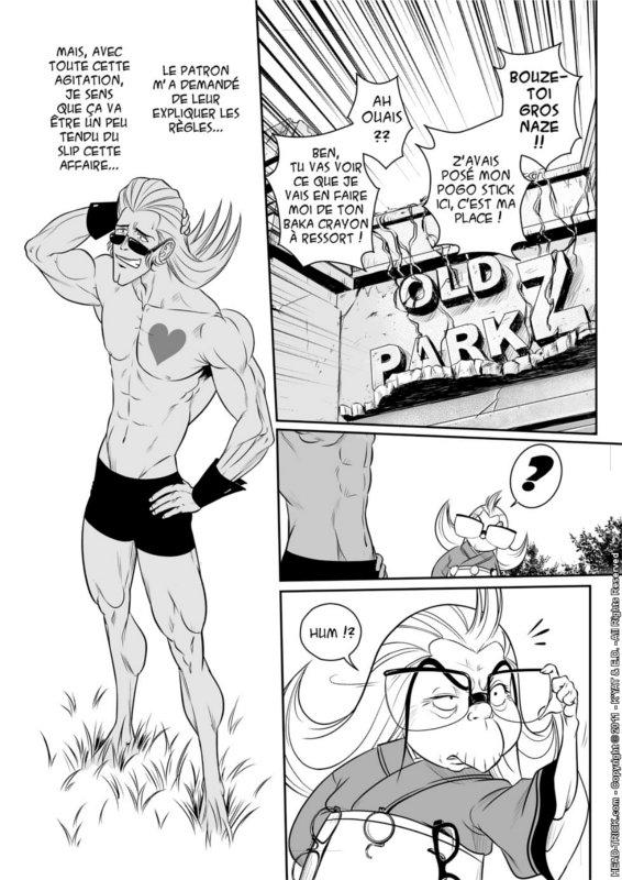 Page 1 du Manga head-trick Tome 5