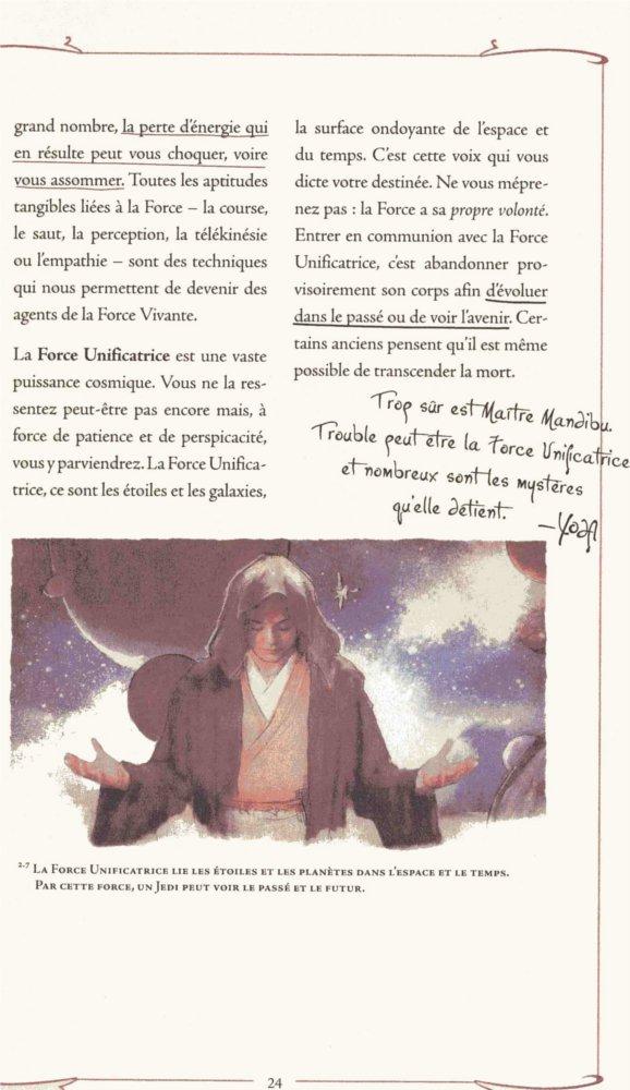 Meditation Jedi d'après le manuel du Jedi (Star Wars)
