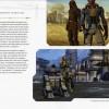 Le livre The Art and Making of Star Wars : The Old Republic montre des images in game du jeu vidéo Star Wars : The Old Republic. Voici un exemple avec la page des compagnons