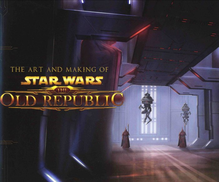 Titre intérieur du livre The Art and Making of Star Wars : The Old Republic