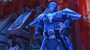 Dark Baras montre sa puissance devant son apprenti dans Star Wars : The Old Republic