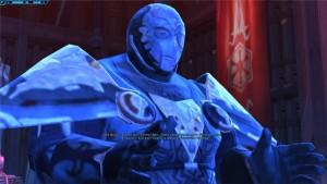 Dark Baras se fait passer pour la voie de l'Empereur dans Star Wars : The Old Republic et tente de discréditer ses ennemis