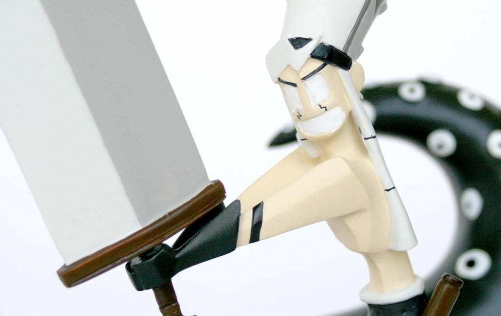 Le personnage de Goultard est conforme au modèle