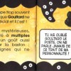 Page 7 et 8 du livret fourni avec la figurine Goultard en résine (Dofus)