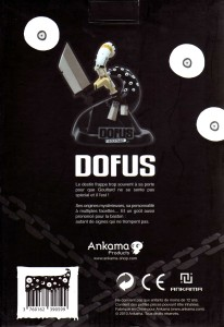 Packaging de la figurine de Goultard (dos)