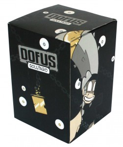 Packaging de la figurine Goultard (Dofus)