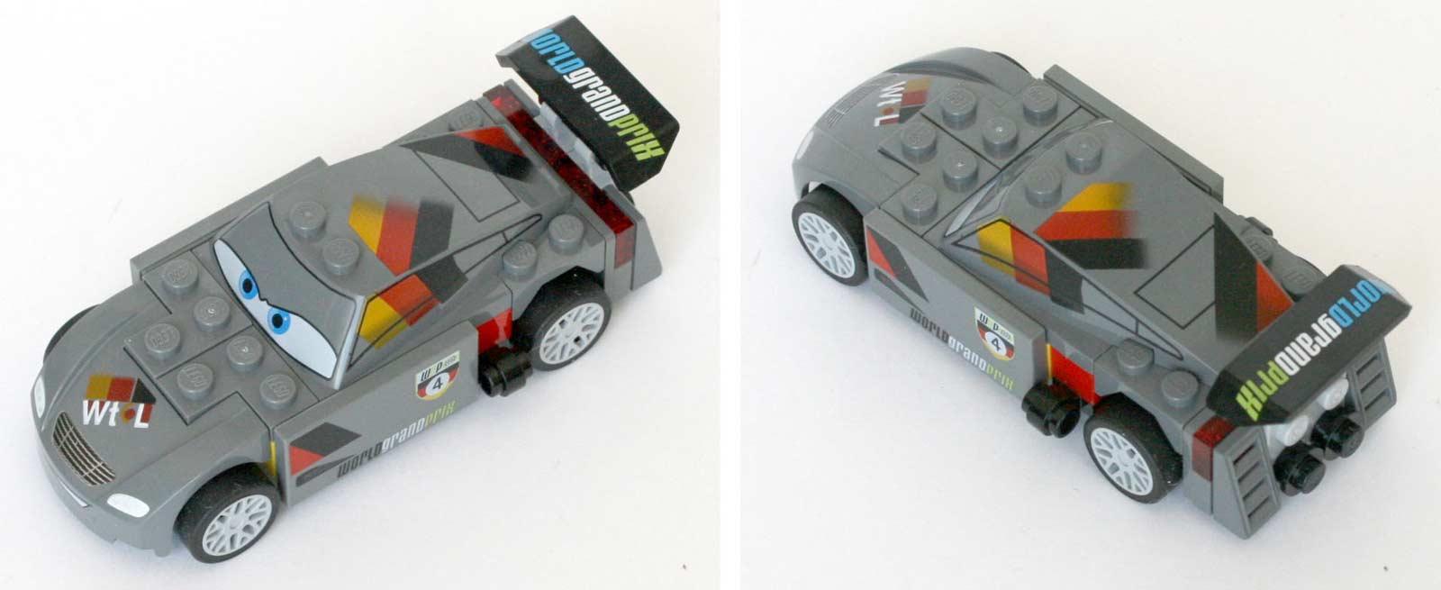 Lego 9485 Ultimate Race Set Cars 2 Max Schnell Vue En Plonge