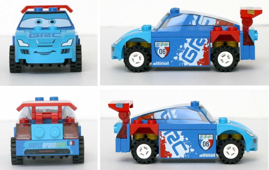 Raoul ÇaRoule - Lego 9485 - Ultimate Race Set (Cars 2)