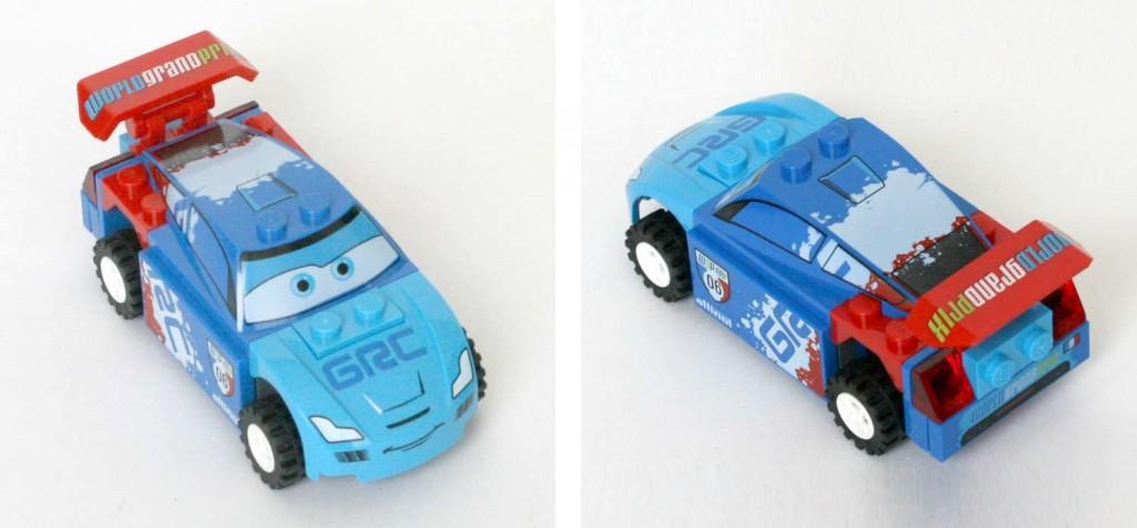 Raoul ÇaRoule plongée - Lego 9485 - Ultimate Race Set (Cars 2)