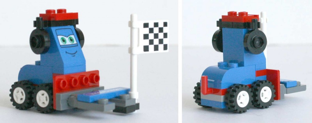 Chariot élévateur - Lego 9485 - Ultimate Race Set (Cars 2)