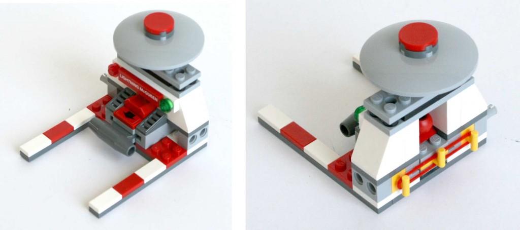 catapulte du Lego 9485 - Ultimate Race Set (Cars 2)