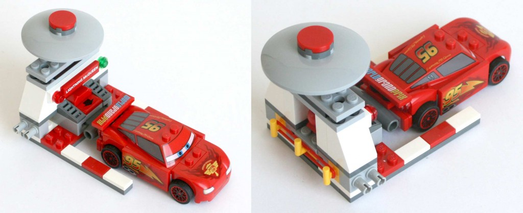 catapulte du Lego 9485 - Ultimate Race Set (Cars 2)