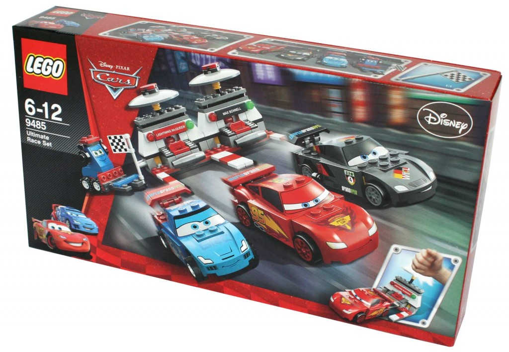 Packaging - Lego 9485 - Ultimate Race Set (Cars 2)