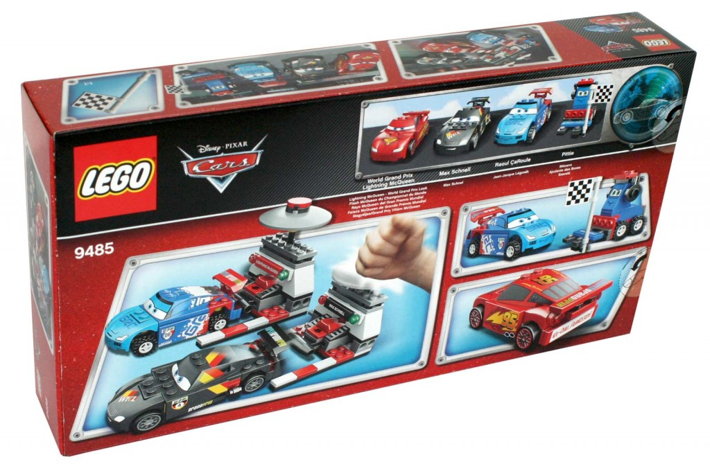 Packaging dos - Lego 9485 - Ultimate Race Set (Cars 2)