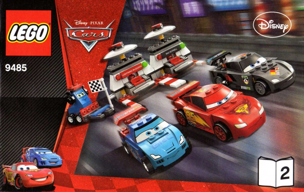 Plan montage - livre 2 - Lego 9485 - Ultimate Race Set (Cars 2)