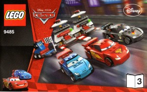 Plan montage - livre 3 - Lego 9485 - Ultimate Race Set (Cars 2)