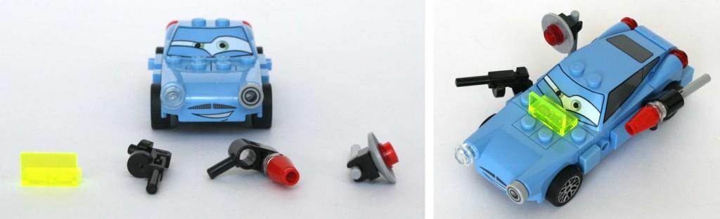 L'équipement de Finn McMissile (Lego - Cars 2)