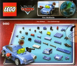 Packaging  dos - Lego 9480 - Finn McMissile