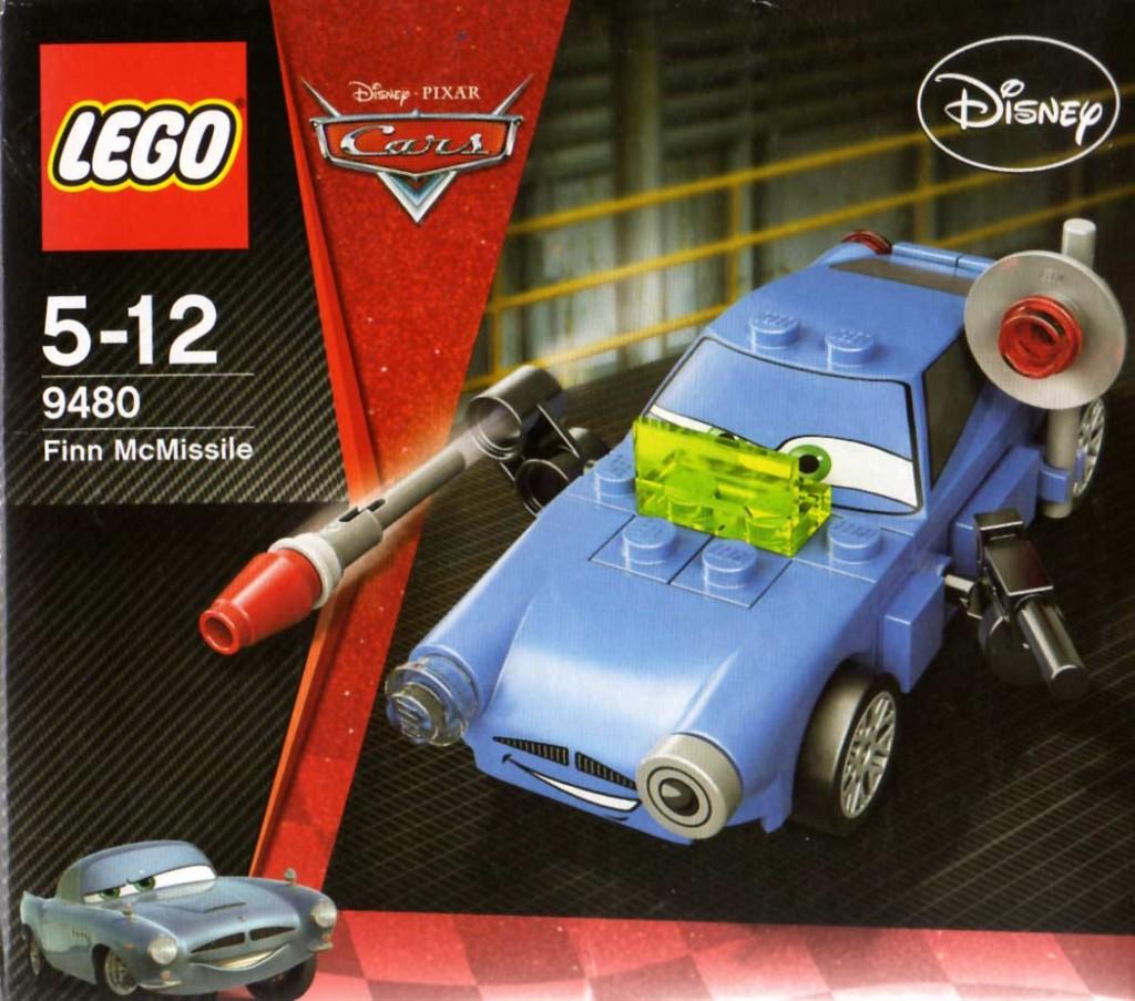 Lego 9480 - Finn McMissile (Cars 2)