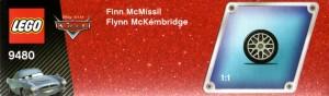 Packaging  haut - Lego 9480 - Finn McMissile