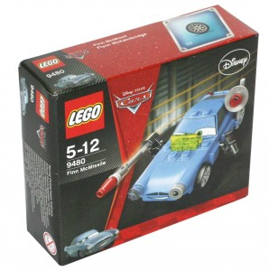 Lego 9480 - Finn McMissile (Packaging face)